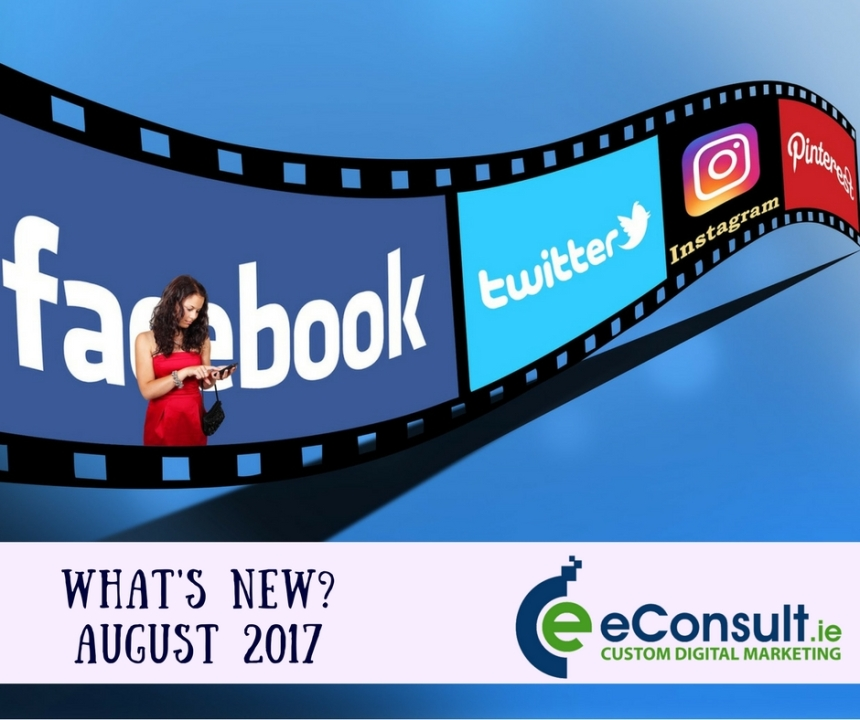 What's New-August 2017